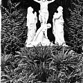 The Grotto - Calvary Scene With Border by Image Takers Photography LLC - Carol Haddon