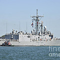 The Guided-missile Frigate Uss De Wert by Stocktrek Images