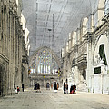 The Guildhall, Interior, From London As by Thomas Shotter Boys
