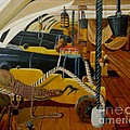 The Guns Of Hms Victory by Anthony Dunphy