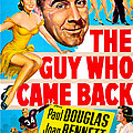 The Guy Who Came Back, Us Poster, Paul by Everett