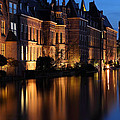 The Hague By Night by Mihai Andritoiu