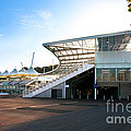 The Hampshire County Cricket Club Pavilion by Terri Waters