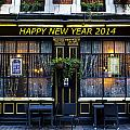 The Happy New Year 2014 Pub by David Pyatt