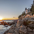 The Harbor Sunset by Jon Glaser