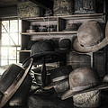 The Hatters Shop - 19th Century Hatter by Gary Heller