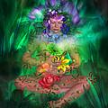The Healing Garden by Carol Cavalaris
