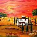 The Heat Of Tuscany by Christine Huwer