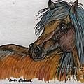 The Heavy Horse by Angel Ciesniarska