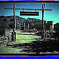 The High Chaparral Set  1984 Collage Old Tucson Arizona 1984-2012 by David Lee Guss