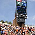 The Hill At Scott Stadium Uva by Jason O Watson