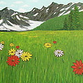 The Hills Are Alive With The Sound Of Music by Frank Hunter