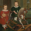 The Hobby Horse by American School