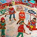 The Hockey Rink by Michael Litvack