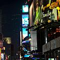 The Holidays In Time Square by Paul Mangold