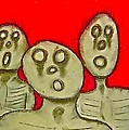 The Hollow Men 88 - Three Walkers by Mario MJ Perron