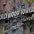 The Hollywood Hotel Signage by Thomas Woolworth