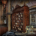 The Hollywood Roosevelt Hotel Reception Desk - Haunted by Lee Dos Santos