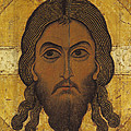 The Holy Face by Novgorod School