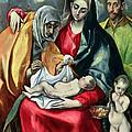 The Holy Family With St Elizabeth by El Greco Domenico Theotocopuli