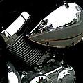 The Honda's Shadow by Steve Taylor