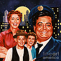 The Honeymooners by Dick Bobnick