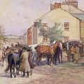 The Horse Fair  by John Atkinson