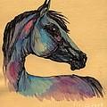 The Horse Portrait 1 by Angel Ciesniarska