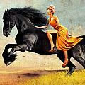 The Horsewoman by Rick Buggy