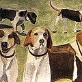 The Hounds by Angela Davies