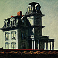 The House By The Railroad by Edward Hopper