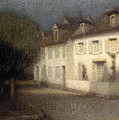 The House by Henri Eugene Augstin Le Sidaner
