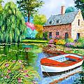 The House Pond by Jean-Marc Janiaczyk