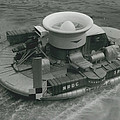 The �hovercraft� Shows Of Its Paces On The Thames by Retro Images Archive