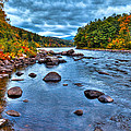The Hudson River In Autumn by David Patterson