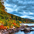 The Hudson River In The Adirondacks by David Patterson