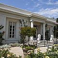 The Huntington Library Rose Garden Tea House by Jason O Watson