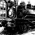 The Hurricane Express Homage 1932 19th Century Locomotive Ghost Town Nevada City Montana by David Lee Guss