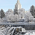 The Idaho Falls Temple by Image Takers Photography LLC - Laura Morgan