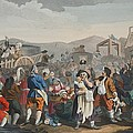 The Idle Prentice Executed At Tyburn by William Hogarth