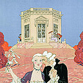 The Indolents by Georges Barbier