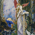 The Inspiration  by Gustave Moreau