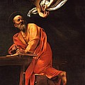 The Inspiration Of Saint Matthew by Pg Reproductions