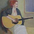 The Irish Singer    Copyrighted by Kathleen Hoekstra