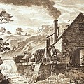 The Iron Forge Between Dolgelli by Paul Sandby