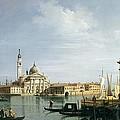 The Island Of San Giorgio Maggiore by Canaletto