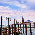 The Island Of San Giorgio Venice by Brenda Kean