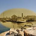 The Islander At Sakonnet Point In Little Compton Rhode Island by Jeff Hayden