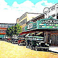 The Jackson Theatre In Jackson Hts. Queens N Y In 1930 by Dwight Goss