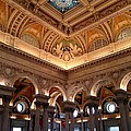 The Jefferson Building Library Of Congress by Lois  Ivancin Tavaf